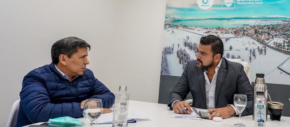 Vuoto y Pino avanzaron en la agenda legislativa 2021