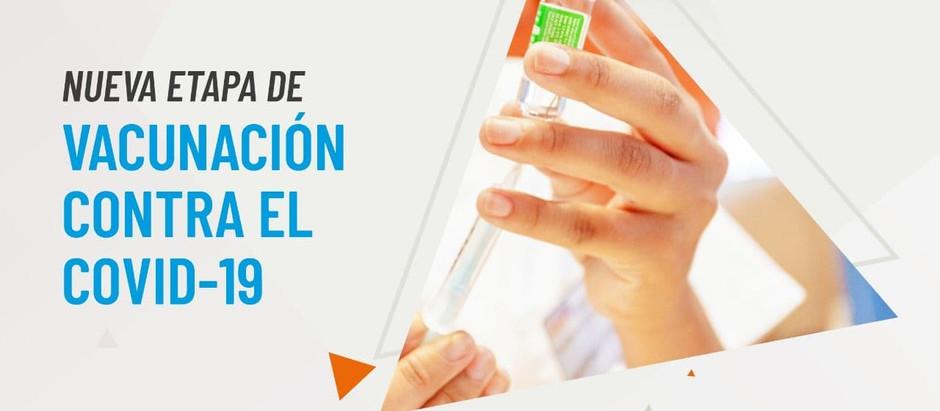 TDF: Comienza una nueva etapa de vacunación contra el Covid-19