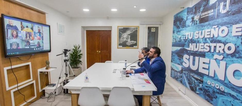 Ushuaia: Vuoto y Ferraresi firmaron la construcción de 132 nuevas viviendas
