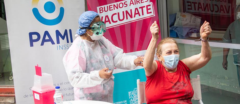Argentina superó el objetivo de vacunación contra el Covid-19 definido para agosto