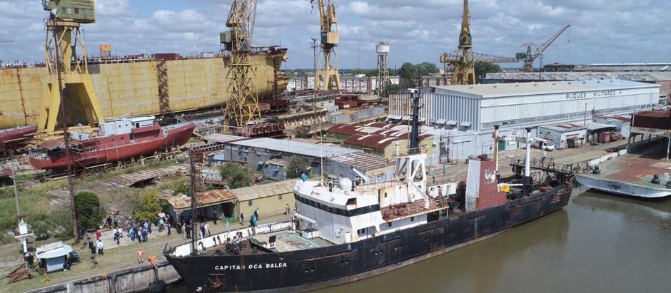 Un buque oceanográfico propio para el Sistema de Áreas Marinas Protegidas