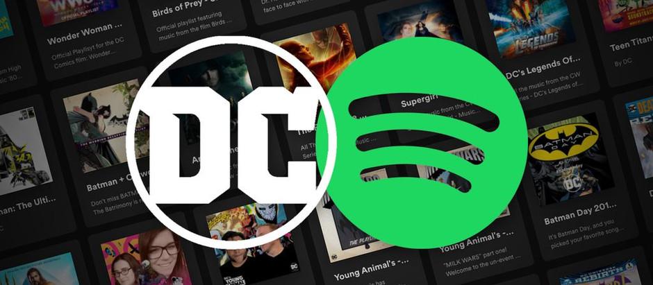 Spotify anuncia sus podcasts basados en el Universo DC