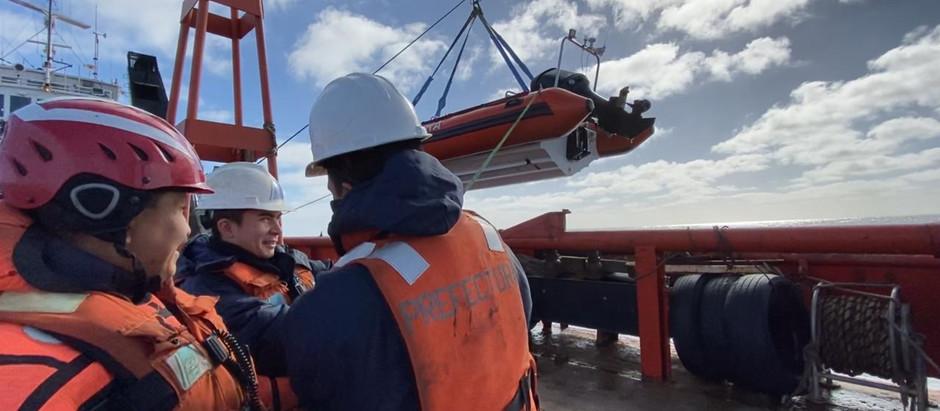 APN llevó a cabo una exitosa campaña en aguas aledañas a Tierra del Fuego