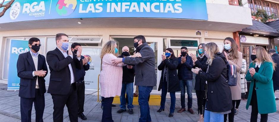 Río Grande: Perez inauguró el Centro Municipal de las Infancias