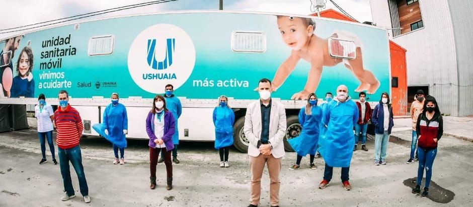 La Municipalidad de Ushuaia reiteró su predisposición para colaborar con la vacunación