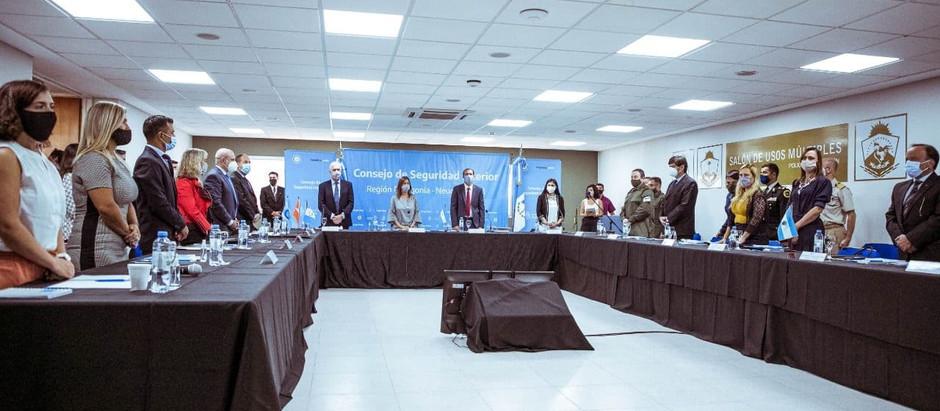 TDF firmó con Nación convenios para implementar las líneas 144 y 911