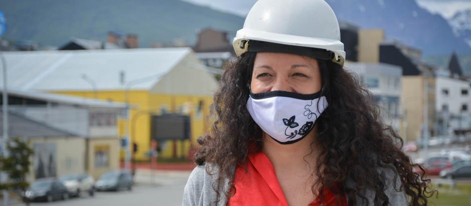Ushuaia: Avila recorrió obras y destacó la gestión del intendente Vuoto