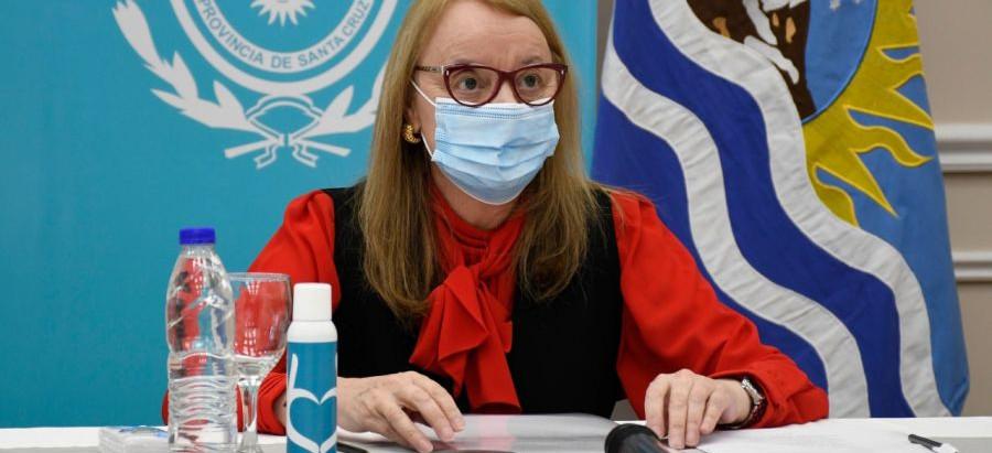 Santa Cruz: Kirchner presentó el proyecto de reconstrucción de puertos en Puerto Deseado