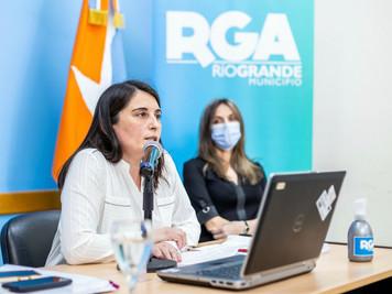 Río Grande: Eugenia Cóccaro resaltó lo realizado en materia del salud