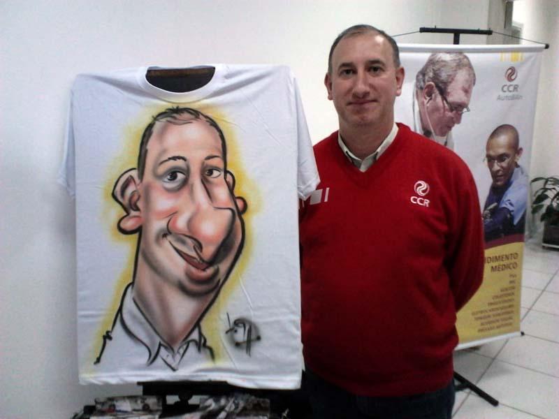 Caricaturas ao vivo, caricaturas onl