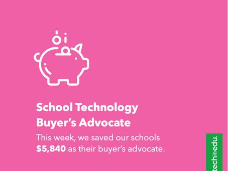 School Technology Buyer's Advocate