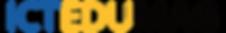ICT Edu Magazine Logo - Transparent No L