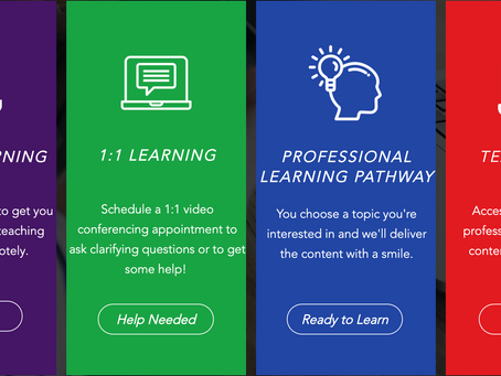 Learn From Home - Teacher Professional Learning Option