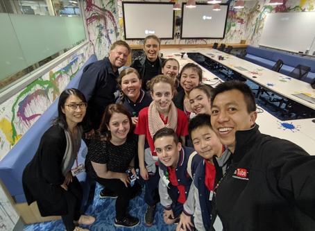 Student Excursion to Google Sydney