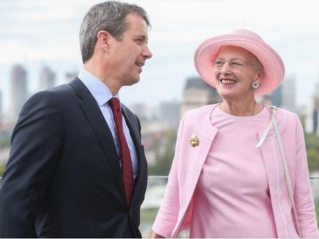La reina de Dinamarca en visita a la Argentina