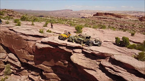 Gizmachis on the Cliffhanger Trail Moab
