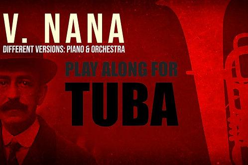 V. NANA (Seven Spanish Folksongs) by M. de FALLA - For solo TUBA