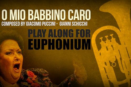 O MIO BABBINO CARO - Giacomo Puccini - Para BOMBARDINO solo