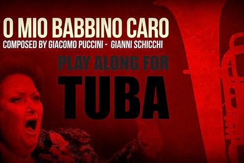 O MIO BABBINO CARO - Giacomo Puccini - For solo TUBA