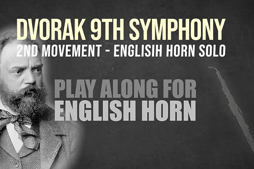 ⛵Dvorak's 9th Symphony⛵ ENGLISH_HORN_SOLO for_ENGLISH_HORN