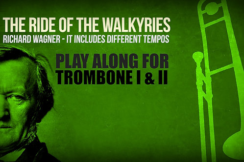 The Ride of the Walkyries (excerpt) - WAGNER - For Trombone I and II