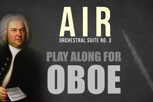 "🌬️""AIR"" by J.S.Bach - Suite No.3 in D Major BWV 1068 OB"