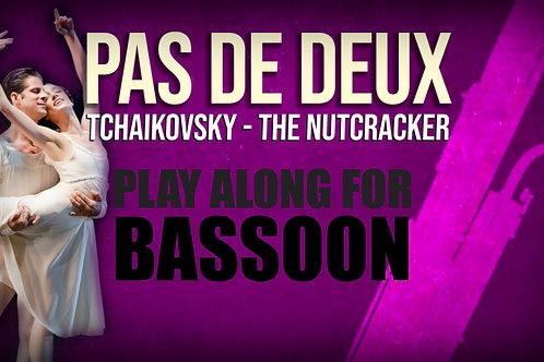 PAS DE DEUX - CASCANUECES - Para solo BASSOON