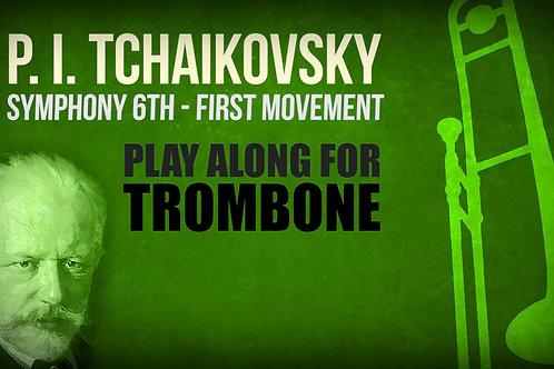 "P. I. Tchaikovsky, Symphony 6th ""Pathétique"", 1st movement - TENOR TROMBONE"