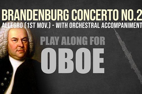 OBOE - BRANDENBURG 2 (1st Mov.) - J.S. BACH