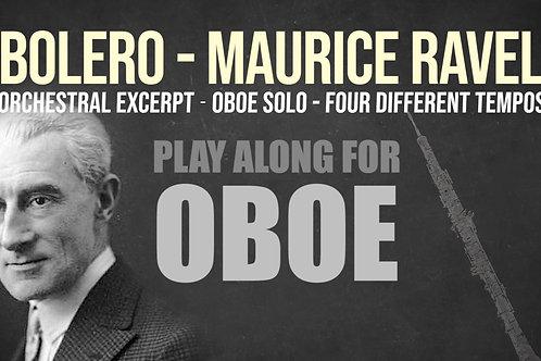 🥁BOLERO - MAURICE RAVEL - OBOE