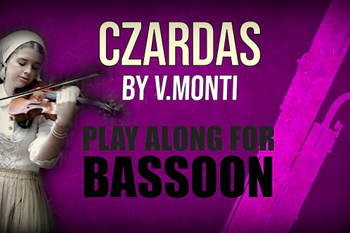 CZARDAS by MONTI BASSOON
