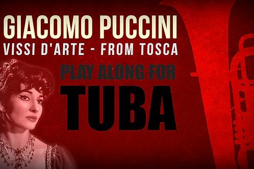 Giacomo Puccini, Vissi d'Arte (de TOSCA) - SOLO TUBA