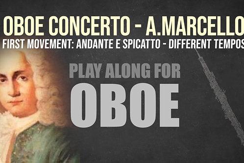 OBOE CONCERTO - 1er Movimiento - Por A. MARCELLO