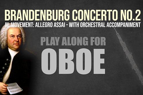 OBOE - BRANDENBURG 2 (3.a mov.) - JS BACH