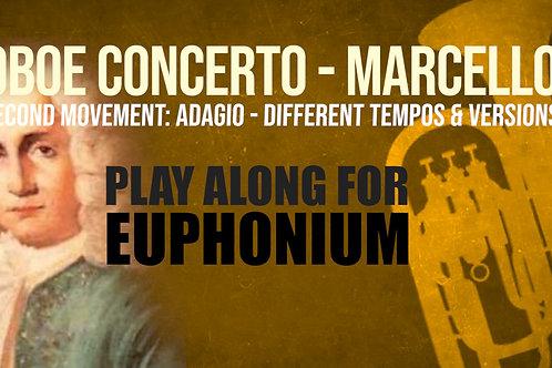 OBOE CONCERTO - 2nd Movement by A. MARCELLO Euphonium