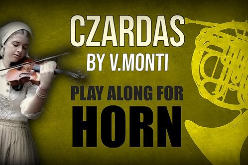 CZARDAS by MONTI HORN_in_F