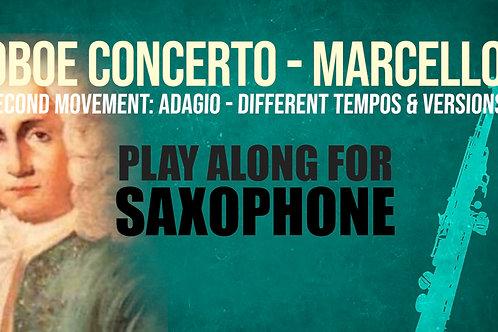 OBOE CONCERTO - 2do Movimiento de A. MARCELLO - Saxofón en Sib