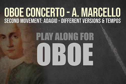 OBOE CONCERTO - 2do Movimiento de A. MARCELLO