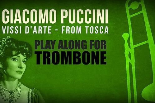 Giacomo Puccini, Vissi d'Arte (de TOSCA) -  SOLO TROMBÓN TENOR