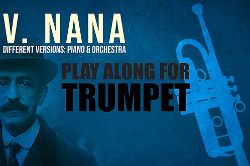 V. NANA (Seven Spanish Folksongs) by FALLA - For solo TRUMPET (Bb &
