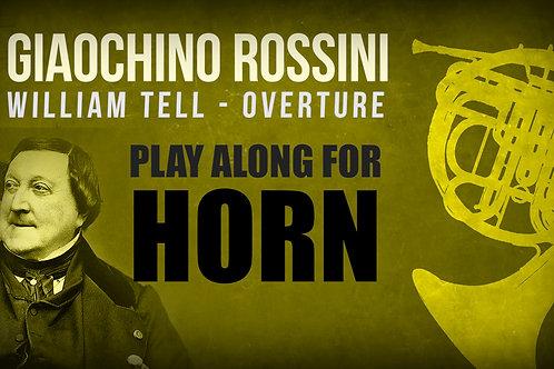 Gioachino Rossini, William Tell (Obertura) - Todo - TROMPA I