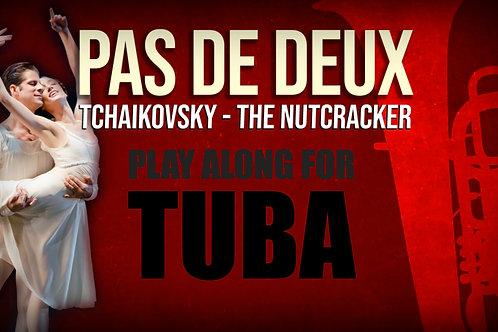 PAS DE DEUX - CASCANUECES - Para solo TUBA