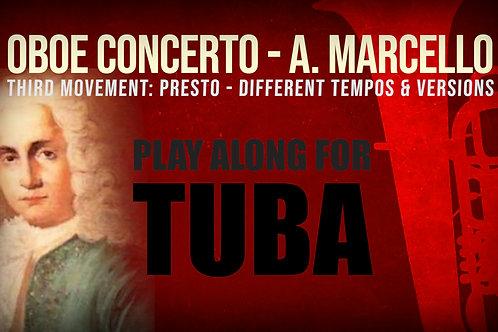 OBOE CONCERTO - 3rd Movement by A. Marcello -TUBA