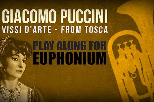 Giacomo Puccini, Vissi d'Arte (from TOSCA) - SOLO EUPHONIUM