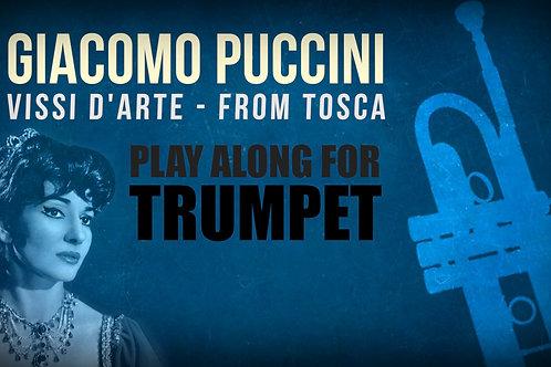 Giacomo Puccini, Vissi d'Arte (de TOSCA) - TROMPETA SOLO