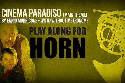 CINEMA PARADISO - MAIN THEME - For solo HORN