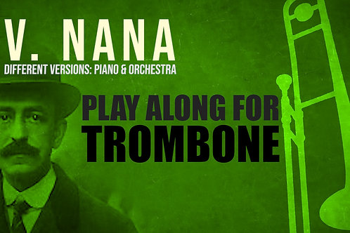 V. NANA (Seven Spanish Folksongs) by M. de FALLA - For solo TROMBONE