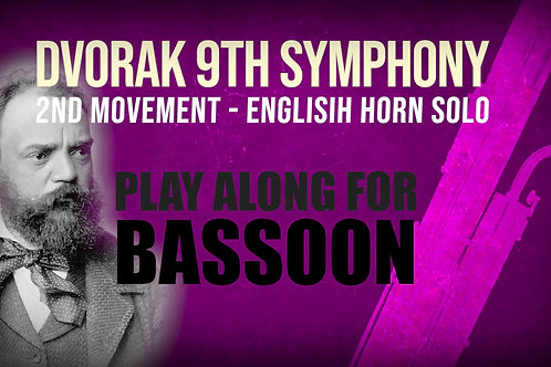 ⛵Dvorak's 9th Symphony⛵ ENGLISH_HORN_SOLO for_BASSOON