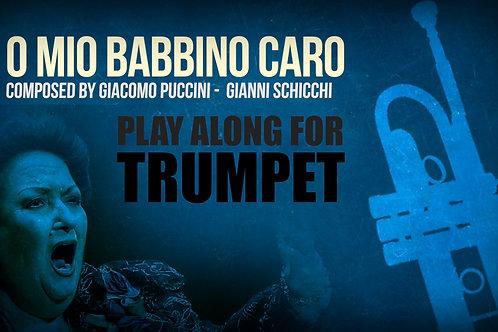 O MIO BABBINO CARO - Giacomo Puccini - Para TROMPETA solo en SIb