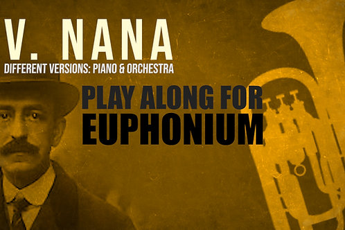V. NANA (Siete Canciones Españolas) de FALLA - Para BOMBARDINO solo